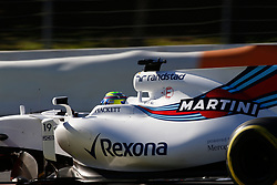 March 7, 2017 - Barcelona, Cataluna, Spain - Motorsports: FIA Formula One World Championship 2017, Test in Barcelona,.Felipe Massa  (BRA, Williams Martini Racing) (Credit Image: © Hoch Zwei via ZUMA Wire)