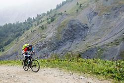 13-09-2017 FRA: BvdGF Tour du Mont Blanc day 4, Trient<br /> Van Chamonix naar Trient. <br /> Rene