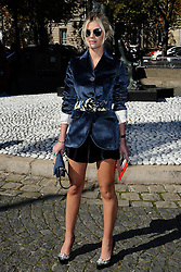 Lala Rudge attending the Miu Miu show as a part of Paris Fashion Week Ready to Wear Spring/Summer 2017 in Paris, France on October 05, 2016. Photo by Aurore Marechal/ABACAPRESS.COM