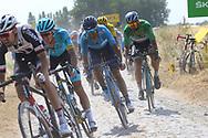 Alejandro Valverde (ESP - Movistar) during the 105th Tour de France 2018, Stage 9, Arras Citadelle - Roubaix (156,5km) on July 15th, 2018 - Photo Kei Tsuji / BettiniPhoto / ProSportsImages / DPPI