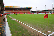 Bescot Stadium during the Sky Bet League 1 match between Walsall and Rochdale at the Banks's Stadium, Walsall, England on 2 January 2016. Photo by Daniel Youngs.