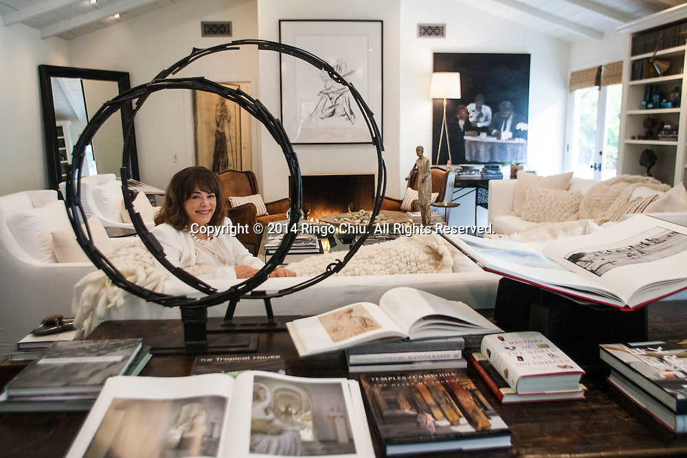 Meridith Baer, founder of home staging company Meridith Baer Home. (Photo by Ringo Chiu/PHOTOFORMULA.com)