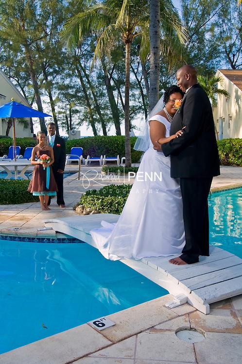 Anzio and Tarah wedding. Mr. and Mrs Simmons