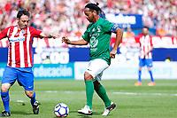 Ronaldinho Gaucho during the last match to be played by Atletico de Madrid at Vicente Calderon Stadium in Madrid, May 28, 2017. Spain.. (ALTERPHOTOS/Rodrigo Jimenez)