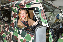 CHARLOTTE DELLAL at #SheInspiresMe Car Boot Sale in Aid of Women for Women International held at the Brewer Street Carpark, Soho, London on 23rd April 2016.