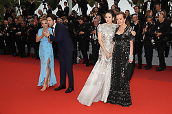 Florence Pugh, Francois Civil, Caroline Scheufele and Gong Li attend the screening of La Belle Epoque during the 72nd annual Cannes Film Festival on May 20, 2019 in Cannes, France. Photo by Shootpix/ABACAPRESS.COM