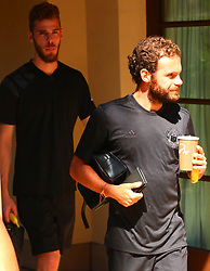 Spanish Midfielder Juan Mata spotted heading to Manchester United Team Practice in Los Angeles, California. 11 Jul 2017 Pictured: Juan Mata. Photo credit: KAT / MEGA TheMegaAgency.com +1 888 505 6342