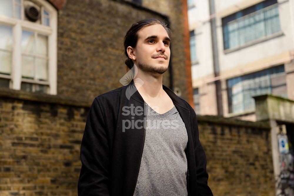 Fonzo Romano pictured in Soho, London.