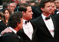 Mark Ruffalo, Channing Tatum, Bennett Miller, Steve Carell at the Foxcatcher gala screening red carpet at the 67th Cannes Film Festival France. Monday 19th May 2014 in Cannes Film Festival, France.