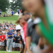 Jason Day, Australia, in action during the final round while winning The Barclays Golf Tournament by six shots at The Plainfield Country Club, Edison, New Jersey, USA. 30th August 2015. Photo Tim Clayton