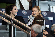KENDALL JENNER , GIGI HADID - WATCH A FOOTBALL MATCH BETWEEN OM VS PSG AT THE PARC DES PRINCES<br /> ©Exclusivepix Media