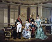 Empress Josephine Receiving Emperor Alexander and his Children at Malmaison