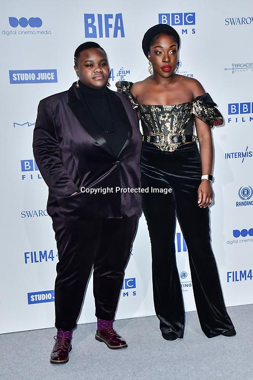 Joy Gharoro-Akpojotor attends the 22nd British Independent Film Awards at Old Billingsgate on December 01, 2019 in London, England.