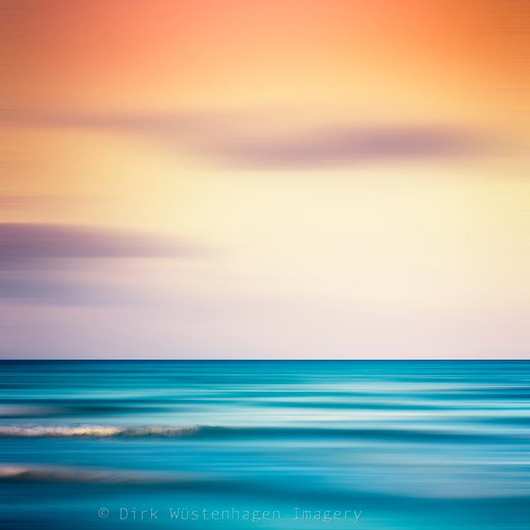 Mediterranean Sea at sunset - abstract photograph<br /> Society6 prints: http://bit.ly/2tWalQx<br /> Redbubble prints: http://rdbl.co/2eKFC6V