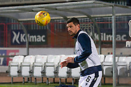 06/10/2020: Dundee FC train at Kilmac Stadium after their Betfred Cup match against Forfar Athletic was postponed due to a positive COVID test result for one of the Forfar players: Graham Dorrans of Dundee <br /> <br /> <br />  :©David Young: davidyoungphoto@gmail.com: www.davidyoungphoto.co.uk