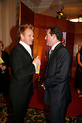 GORDON RAMSAY AND PIERS MORGAN, 17th Annual Book Awards, hosted by richard and Judy. grosvenor House. London. 29 March 2006. ONE TIME USE ONLY - DO NOT ARCHIVE  © Copyright Photograph by Dafydd Jones 66 Stockwell Park Rd. London SW9 0DA Tel 020 7733 0108 www.dafjones.com