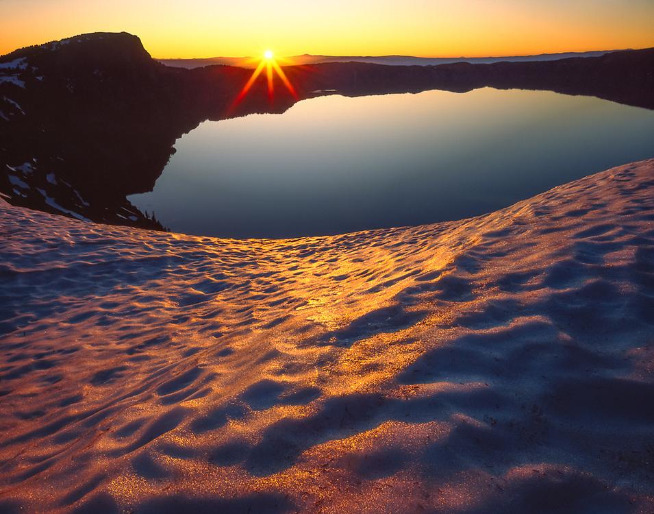 Sunrise, Crater Lake National Park, OR.  USA
