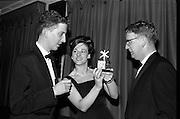Eire Amateur Ballroom Dancing Chanpionship was held last night at the Metropole Ballroom, Dublin.  Novice winners are awwarded the Bri-Nylon Trophy..06.10.1964
