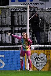 Sophie Baggaley of Bristol City Women - Mandatory by-line: Ryan Hiscott/JMP - 14/11/2020 - FOOTBALL - Twerton Park - Bath, England - Bristol City Women v Tottenham Hotspur Women - Barclays FA Women's Super League
