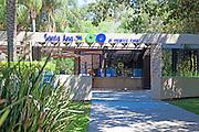 Entrance to the Santa Ana Zoo in Prentice Park