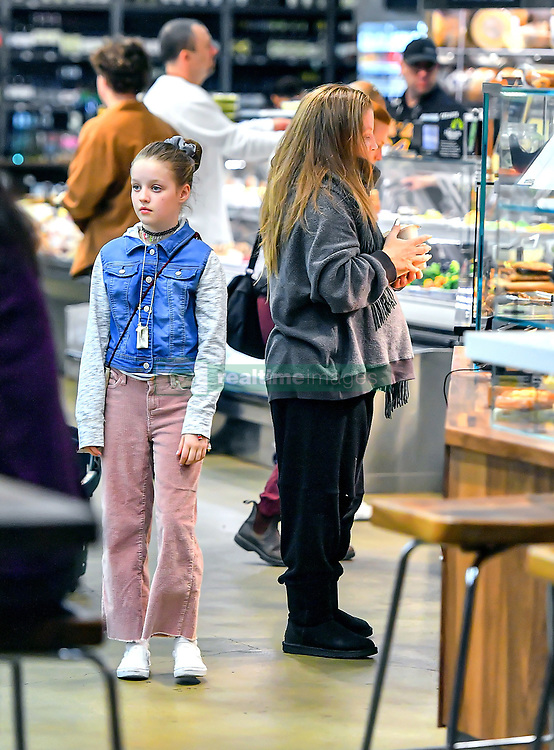 EXCLUSIVE: Lisa Marie Presley was spotted grocery shopping at Erewhon with her daughters Finley and Harper amid the Covid-19 Coronavirus pandemic in Los Angeles, CA. **SPECIAL INSTRUCTIONS*** Please pixelate children's faces before publication.***. 26 Mar 2020 Pictured: Lisa Marie Presley was spotted grocery shopping at Erewhon with her daughters Finley and Harper amid the Covid-19 Coronavirus pandemic in Los Angeles, CA. Photo credit: Marksman / MEGA TheMegaAgency.com +1 888 505 6342