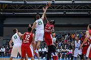 DESCRIZIONE : 3° Torneo Internazionale Geovillage Olbia Sidigas Scandone Avellino - Brose Basket Bamberg<br /> GIOCATORE : Ivan Buva Gabriel Olaseni<br /> CATEGORIA : Palla a Due<br /> SQUADRA : Sidigas Scandone Avellino<br /> EVENTO : 3° Torneo Internazionale Geovillage Olbia<br /> GARA : 3° Torneo Internazionale Geovillage Olbia Sidigas Scandone Avellino - Brose Basket Bamberg<br /> DATA : 05/09/2015<br /> SPORT : Pallacanestro <br /> AUTORE : Agenzia Ciamillo-Castoria/L.Canu