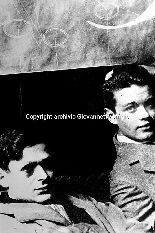 Tristan Tzara, André Breton<br />archivio Giovannetti/effigie