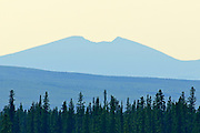 Richardson Mountains along the Dempster<br /> <br /> Dempster Highway Near Ft. McPherson<br /> Northwest Territories<br /> Canada