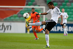 Marian Sarr of Germany during the UEFA European Under-17 Championship Final match between Germany and Netherlands on May 16, 2012 in SRC Stozice, Ljubljana, Slovenia. (Photo by Urban Urbanc / Sportida.com)