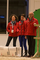 Dr. Cordula Gather, Monica Theodorescu, Jurgen Koschel <br /> Reem Acra FEI World Cup Goteborg 2013<br /> © Dirk Caremans