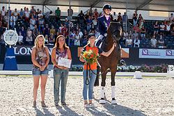 Van Liere Dinja, NED, Hermès<br /> World ChampionshipsYoung Dressage Horses<br /> Ermelo 2018<br /> © Hippo Foto - Dirk Caremans<br /> 05/08/2018