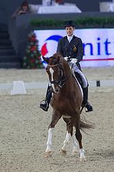 De Deken Julie (BEL) - Fazzino<br /> Grand Prix - CDI-W Mechelen 2011<br /> © Dirk Caremans