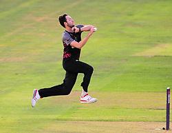 Paul van Meekeren of Somerset in action.  - Mandatory by-line: Alex Davidson/JMP - 22/07/2016 - CRICKET - Th SSE Swalec Stadium - Cardiff, United Kingdom - Glamorgan v Somerset - NatWest T20 Blast