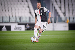 Leonardo Bonucci during Juventus-Milan match for Italian Cup 2019/2020 at Juventus Stadium in Turin, Italy on June 12, 2020. The stadium behind closed doors for the covid-19 emergency. Photo by Riccardo Giordano/IPA/ABACAPRESS.COM