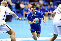 Håndball , 23. oktober 2013 , kvartfinale NM herrer , Drammen - Haslum<br /> Gøran Sørheim , DHK