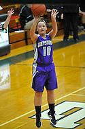 Keystone at Elyria Catholic in a girls high school varsity basketball game on February 6, 2012.