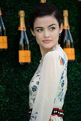 June 3, 2017 - Jersey City, NJ, USA - June 3, 2017 Jersey City, NJ..Lucy Hale attending the Veuve Cliquot Polo Classic at Liberty State Park on June 3, 2017 in Jersey City, NJ. (Credit Image: © Kristin Callahan/Ace Pictures via ZUMA Press)