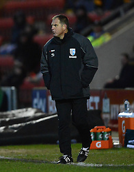 Gillingham Caretaker  Manager Steve Lovell looks on - Photo mandatory by-line: Richard Martin-Roberts - Mobile: 07966 386802 - 10/01/2015 - SPORT - Football - Crewe - Alexandra Stadium - Crewe Alexandra v Gillingham - Sky Bet League One