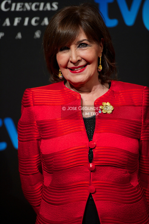 Concha Velasco attends the Goya Awards Nominated Gala at Teatros del Canal on January 28, 2013 in Madrid, Spain