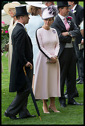 June 19, 2018 - Ascot, United Kingdom - Image licensed to i-Images Picture Agency. 19/06/2018. Ascot , United Kingdom. The Earl and Countess of Wessex on the opening day of Royal Ascot, United Kingdom. (Credit Image: © Stephen Lock/i-Images via ZUMA Press)