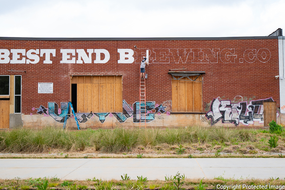 New Brewery going into old warehouses along the Westside Beltline