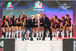 FINAL FOUR COPPA ITALIA PALLAVOLO FEMMINILE<br /> RIMINI 14-03-2021<br /> FOTO FILIPPO RUBIN / LVF