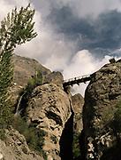 High bridge on the way to Karimabad.