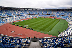 TBILSI, GEORGIA - Thursday, October 5, 2017: A general view of the Boris Paichadze Dinamo Arena ahead of the 2018 FIFA World Cup Qualifying Group D match between Georgia and Wales. (Pic by David Rawcliffe/Propaganda)