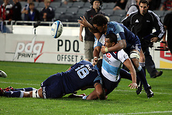 Kurtley Beale. Investec Super Rugby - Blues v Waratahs, Eden Park, Auckland, New Zealand. Saturday 16 April 2011. Photo: Clay Cross / photosport.co.nz