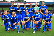 Rochdale Legends during the Joe Thompson's Allstars v Joe Thompson's Celebrity 11 in Rochdale at the Crown Oil Arena, Rochdale, England on 21 July 2019.