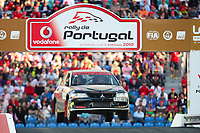 20100527: LOULE, ALGARVE, PORTUGAL - Portugal WRC Rally 2010 - Super Special Stage at Algarve Stadium. In picture: Edith Weiss (GER) / Vicky Psaaraki (GRE) - Mitsubishi Lancer Evo VIII . PHOTO: CITYFILES