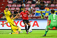 NONTHABURI, THAILAND - JULY 02: Assumpcao of SCG Muangthong United in action during the second half of the Thai League: SCG Muangthong United vs Pattaya United at SCG Stadium, Nonthaburi, Thailand on July 02, 2017.<br /> .<br /> .<br /> .<br /> (Photo by: Naratip Golf Srisupab/SEALs Sports Images)<br /> .<br /> Any image use must include a mandatory credit line adjacent to the content which should read: Naratip Golf Srisupab/SEALs Sports Images