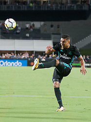 July 26, 2017 - Los Angeles, California, U.S - Casimiro #14 of Real Madrid during their International Champions Cup game with Manchester City at the Los Angeles Memorial Coliseum in Los Angeles, California on Wednesday July 26, 2017. Manchester City defeats Real Madrid, 4-1. (Credit Image: © Prensa Internacional via ZUMA Wire)