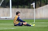 Thomas Rosicky of Arsenal in action for the Arsenal u21 team. Barclays U21Premier league match, Swansea city U21's v Arsenal U21's at the Landore training ground in Swansea, South Wales on Thursday 14th April 2016.<br /> pic by Andrew Orchard, Andrew Orchard sports photography.